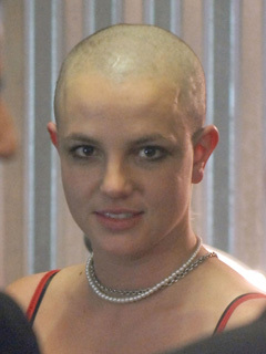 sexy bald woman
