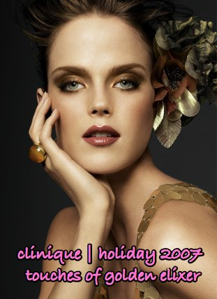 clinique-holiday-2007-touches-golden-elixer-model