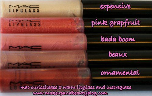 mac-curiositease-warm-lipglass-lustreglass-all