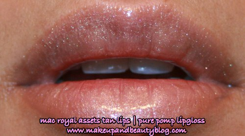 mac-cosmetics-makeup-royal-assets-tan-lip-palette-pure-pomp-lipglass