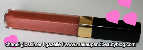 Chanel Glosslimer Gazelle Makeup and Beauty Blog 2