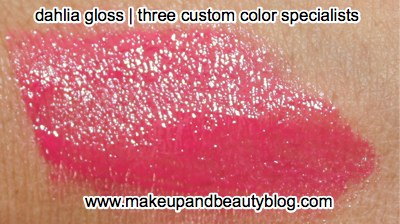 Lip Look: Three Custom Color Specialists Dahlia Gloss ...