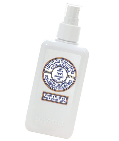 LOccitane's Ultra Comforting Cleansing Milk