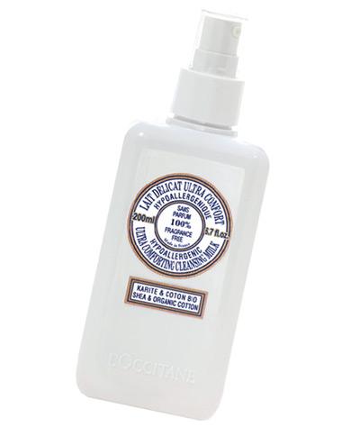 LOccitane's Ultra Comforting Cleansing Milk