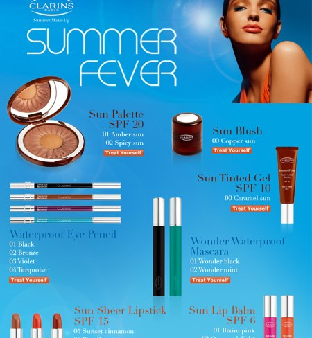clarins-summer-fever