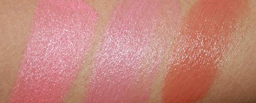 sonia-kashuk-creme-blush-ginger-petal-rosey-swatches