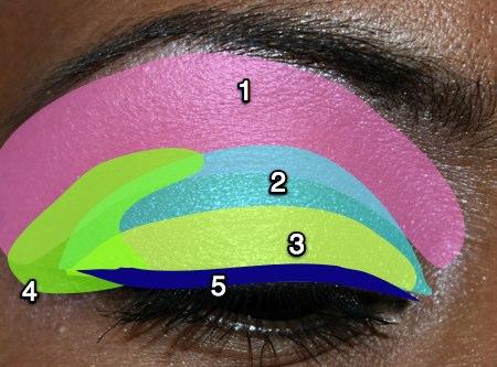 mac-cosmetics-medallion-silverwear-trophy-pink-fotd-eyemap-2