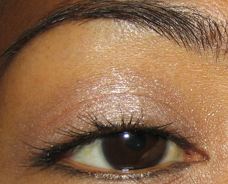 eye makeup shadow. One of nine eye shadow duos