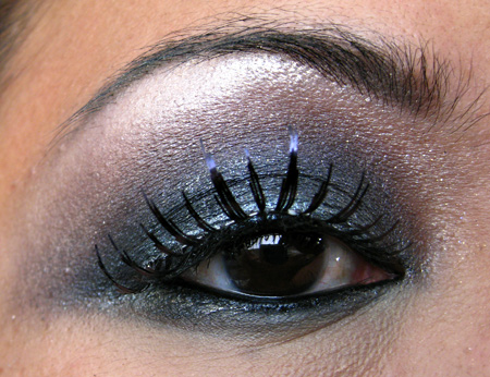 mac smokey eye tutorial halloween flashback  makeup and