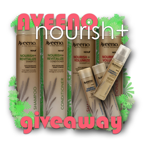 aveeno nourish haircare giveaway