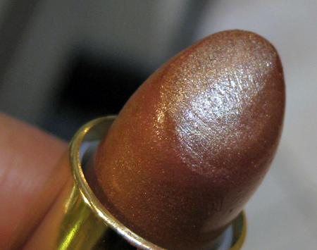 estee lauder bronze goddess lipstick closeup