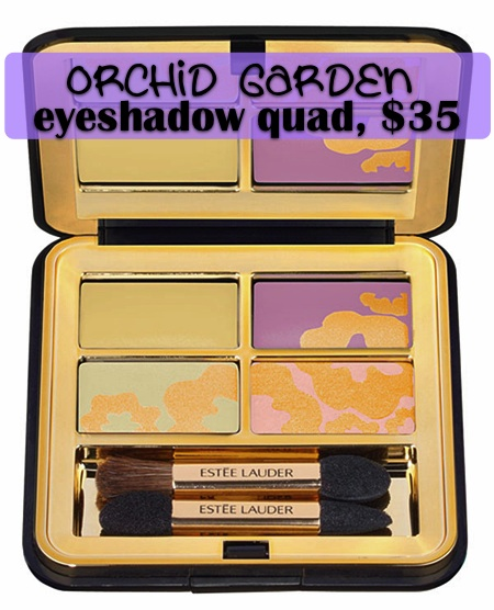 estee lauder garden collection orchid garden eyeshadow quad