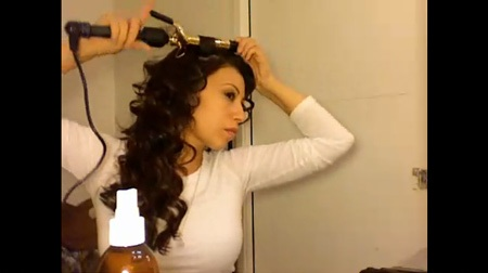 Super Curly Kim Kardashian Tutorial
