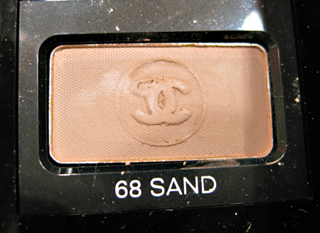 Chanel Cote DAzur Collection Summer 2009 Soft Touch Eyeshadow Sand 10