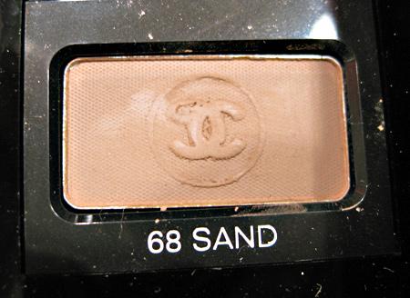 Chanel Cote DAzur Collection Summer 2009 Soft Touch Eyeshadow Sand 10