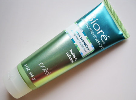 biore even smoother microderm exfoliator