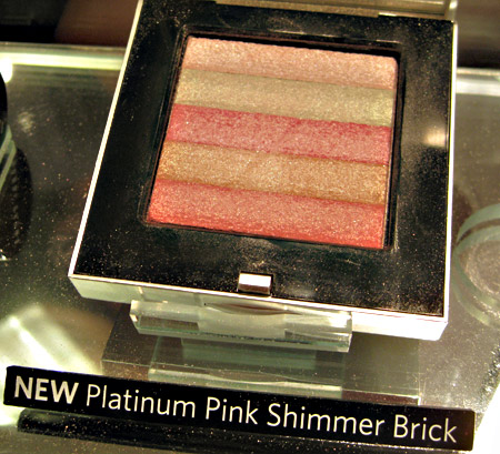 Bobbi Brown Platinum Collection Platinum Pink Shimmer Brick