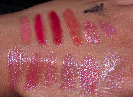Chanel Cote DAzur Collection Summer 2009 swatches aqualumieres doublewear all