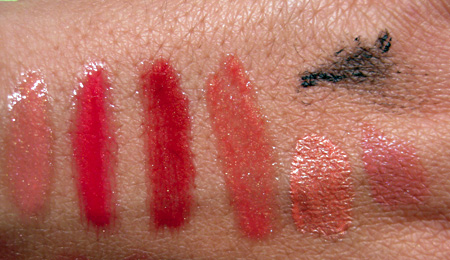 Chanel Cote DAzur Collection Summer 2009 swatches aqualumiere long wear mascara