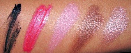 barbie loves stila jewel doll swatches