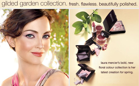 laura mercier gilded garden collection