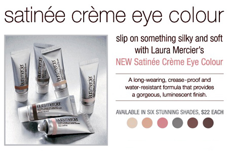 laura mercier satinee creme eye colour top
