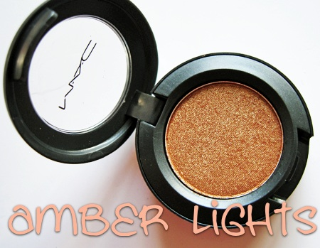 mac cosmetics amber lights