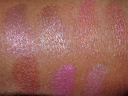 mac cosmetics grand duos blushes swatches