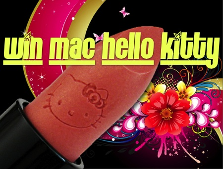 mac hello kitty cutester giveaway