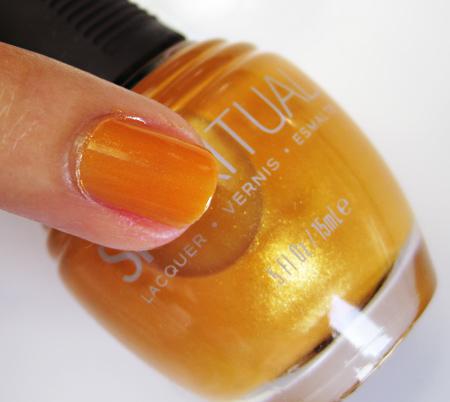 spa ritual nail polish treasure