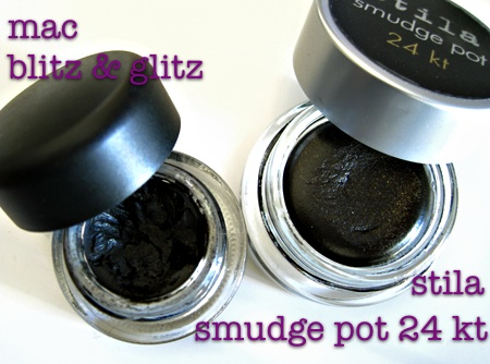 stila indian summer 2009 smudge pot 24 kt golden noir