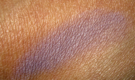 bobbi brown long-wear cream shadow in heather swatch 2
