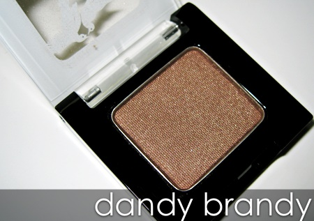 benefit velvet eyeshadows dandy brandy