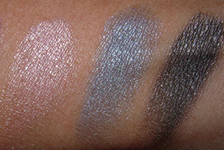 benefit velvet eyeshadows swatches leggy like what you sea where theres smoke