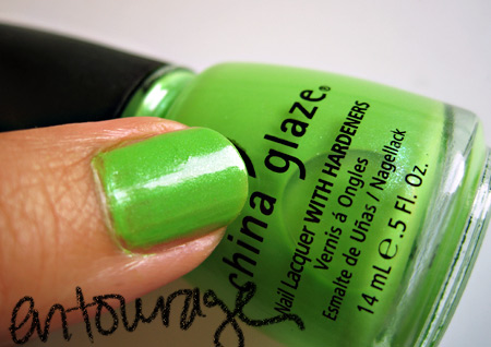 china glaze kicks entourage