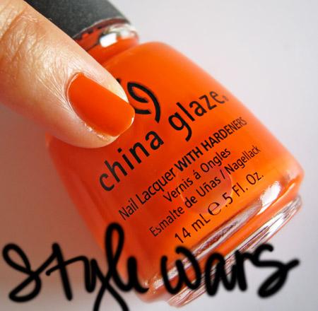 china glaze kicks style wars