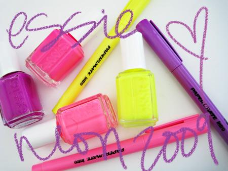 essie neon 2009
