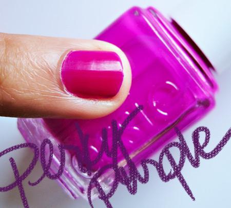 essie neon 2009 perky purple
