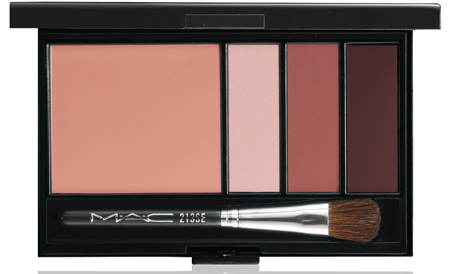 mac cosmetics bronze eye and cheek palette