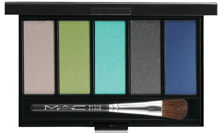 mac cosmetics cool eyes palette