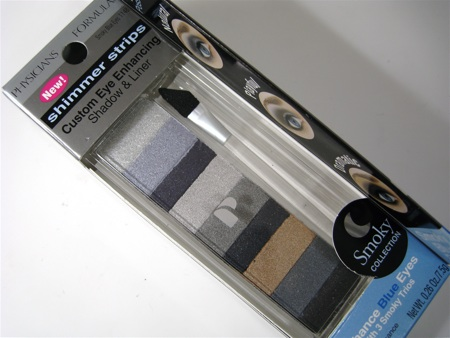 physicians formula smoky blue eyes shimmer strips custom eye enhancing shadow and liner