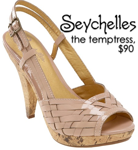 seychelles for smashbox pretty in peep toes palette the temptress