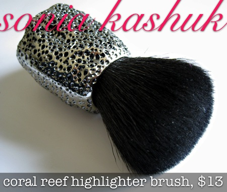 sonia kashuk coral reef highlighter brush