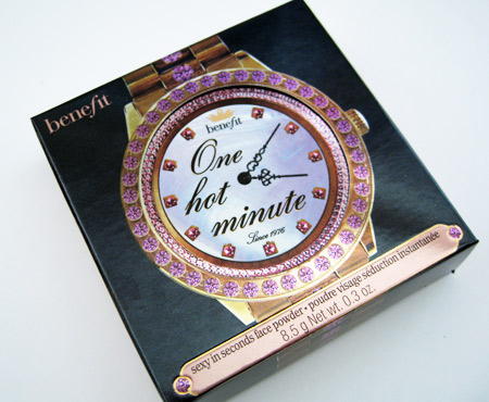 benefit one hot minute sexy in seconds box front
