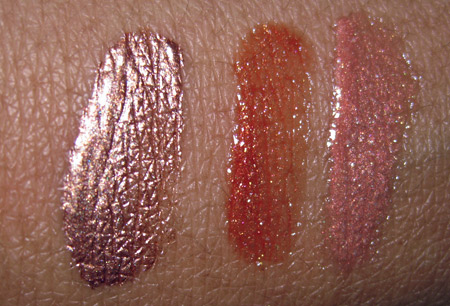 givenchy summer 2009 pop gloss crystal sun coral sun rose mister bright sunlight swatches
