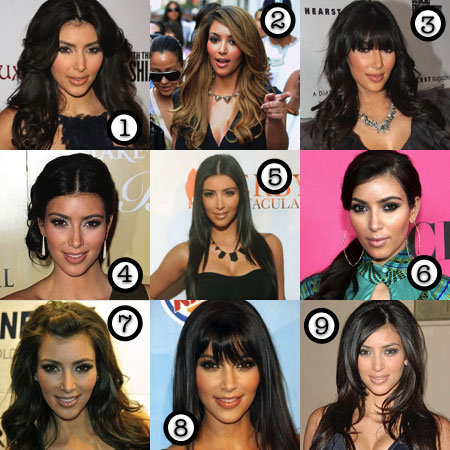 Kardashian Straight Hair on Estilo Kim Kardashian   Trends For You
