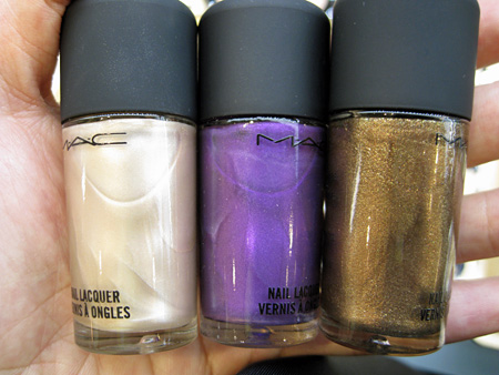 mac style warriors peaceable violet fire mercenary nail polish