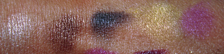 mac style warriors swatches soft force tempting night manoeuvres bright future vibrant grape eyeshadow