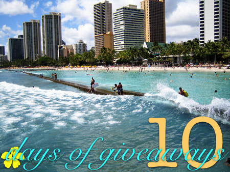 makeup and beauty blog 10 days of giveaways waikiki walls