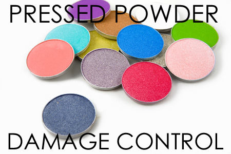 Pressed powder repair